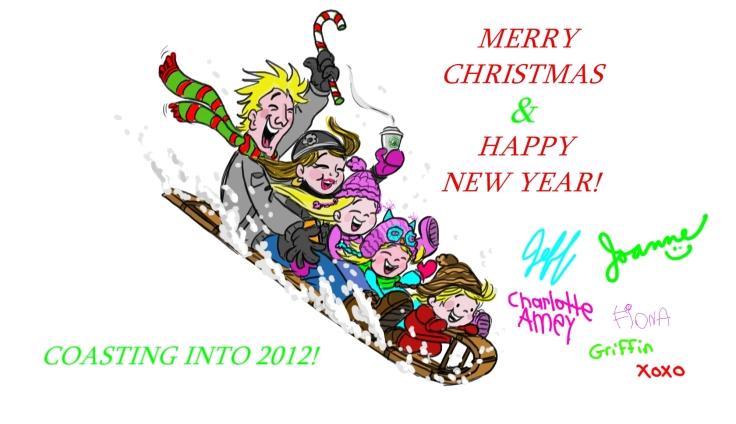 Amey Christmas card 2011