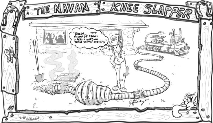 October Navan Nugget Cartoon